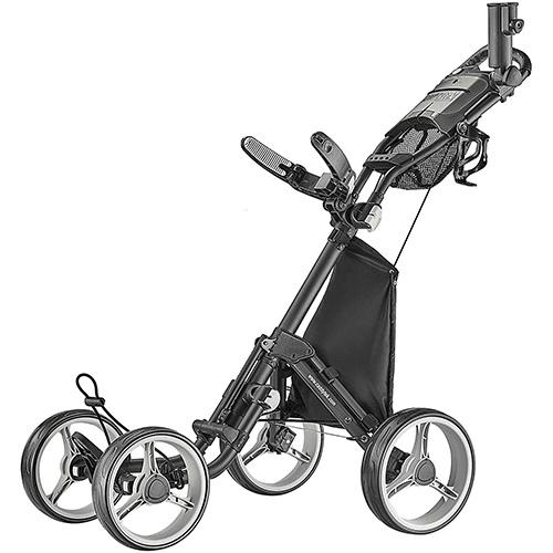 CaddyTek Explorer V8 - SuperLite 4 Wheel Golf Push Cart