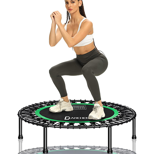 Darchen 450 lbs Mini Indoor Trampoline for Adults