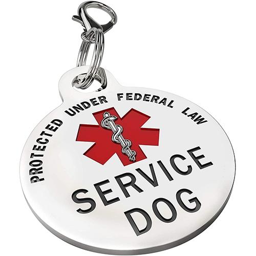 K9King Service Dog Tag