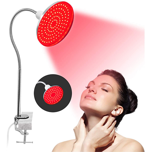 LED Red Light Lamp with Stand