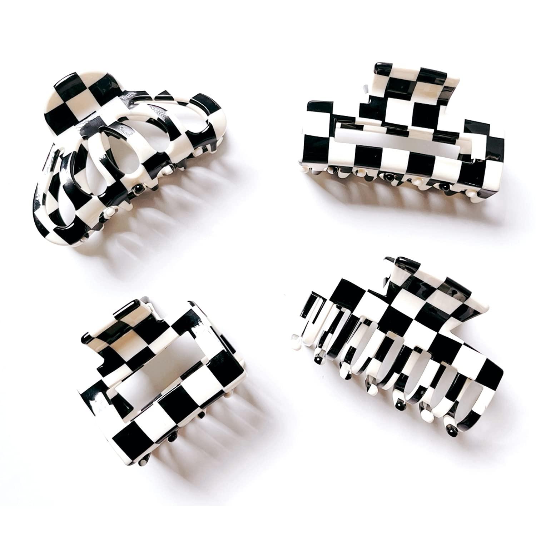 LYSSS Hair Claws Bundle 4PCs Hair Claw Clips