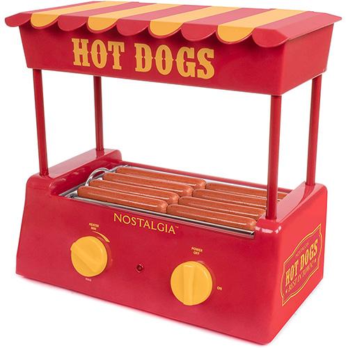 Nostalgia HDR8RY Countertop Hot Dog Warmer