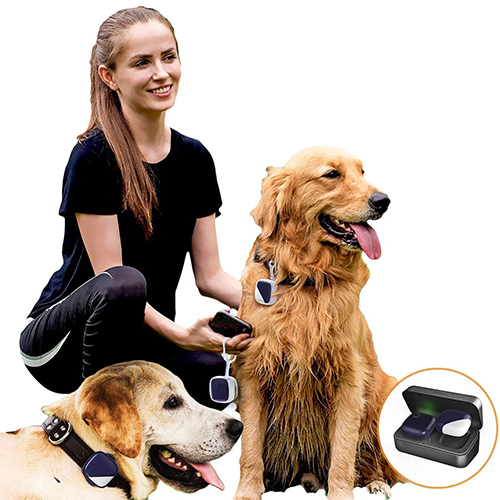 PETFON Pet GPS Dog Location & Activity Trackers for 1-3 Dogs
