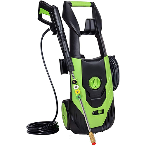 Qualidy Electric Pressure Washer, Max PSI 3000 [1800W High-Density]
