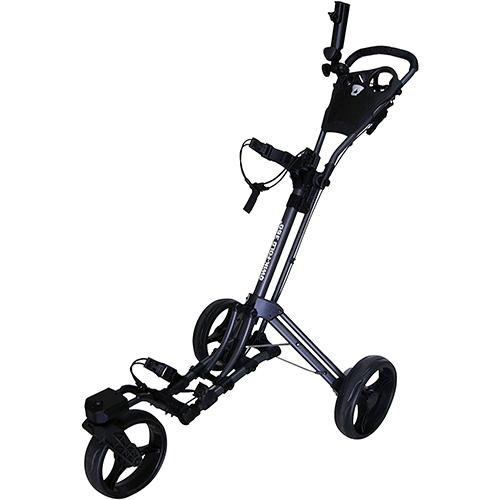 Qwik-Fold 360 Swivel 3 Wheel Push Pull Golf Cart