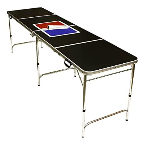 Red Cup Pong Folding Beer Pong Table
