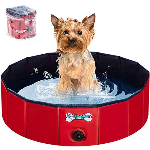 V-HANVER Foldable Dog Pool