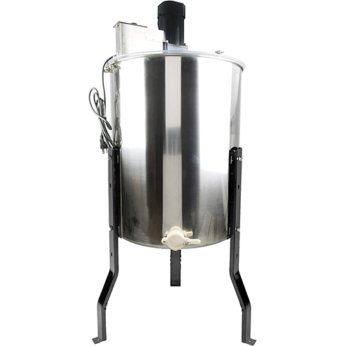 VIVO Large Electric 4 to 8 Frame Stainless Steel Honey Extractor, Honeycomb Drum Spinner BEE-V004E