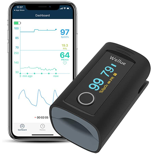 Wellue Bluetooth Pulse Oximeter Fingertip